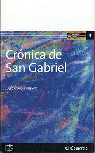 9789972401725: Cronica De San Gabriel (Literatura Peruana, #4)