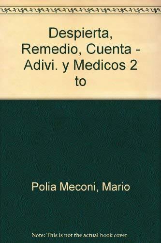 9789972420504: Despierta, Remedio, Cuenta - Adivi. y Medicos 2 to