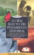 9789972998805: Lo Mas Selecto del Pensamiento Universal: Para Alguien Especial 5