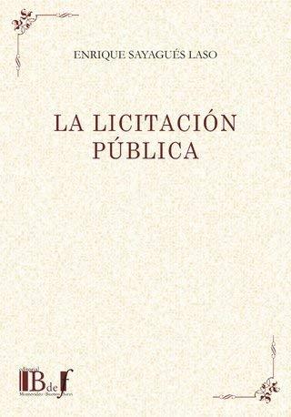 9789974578487: LA LICITACION PUBLICA