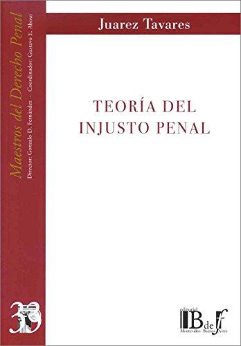 9789974676503: Teoría del injusto penal