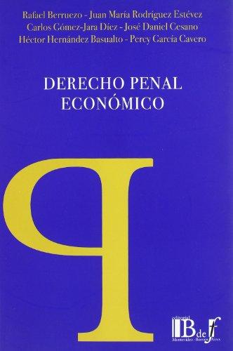 9789974676541: Derecho penal economico