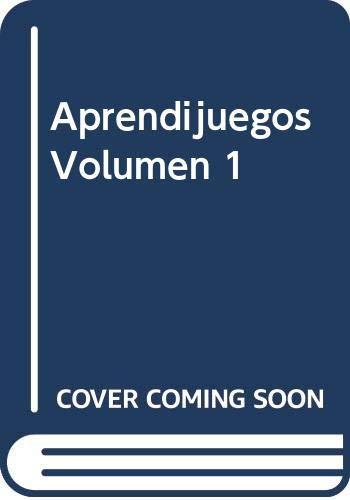 9789974773318: Aprendijuegos Volumen 1 (Spanish Edition)