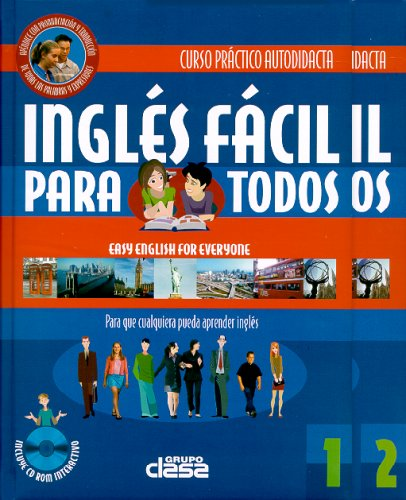 9789974791442: INGLES FACIL PARA TODOS/2 BOOK SET + DISCO COMPACTO (Spanish Edition)