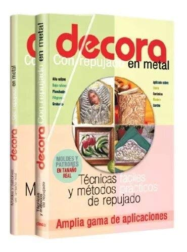 9789974797666: Decora Con Repujado En Metal