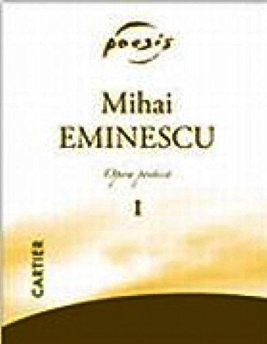 Opera poetica (4 volúmenes): Eminescu, Mihai
