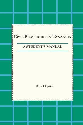 9789976603750: Civil Procedure in Tanzania