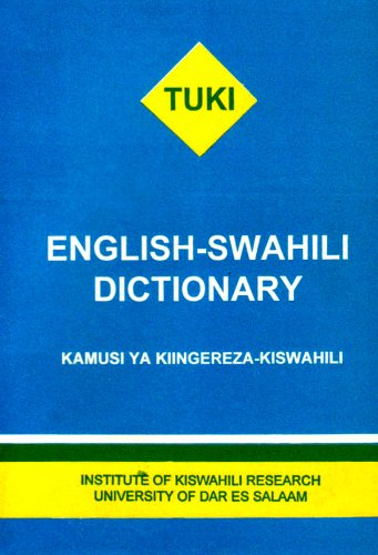 9789976911299: English - Swahili Dictionary - Kamusi Ya Kiingereza-Kiswahili (Swahili Edition)