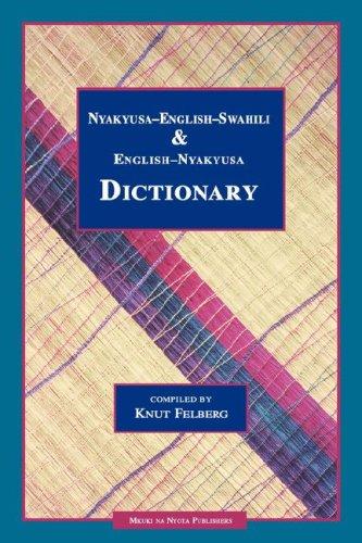 9789976973327: Nyakyusa-English-Swahili & English-Nyaky (Swahili Edition)