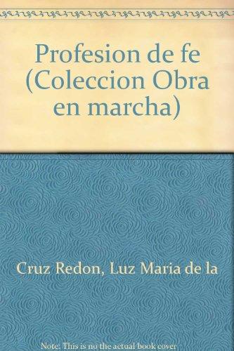 Profesion de fe (Coleccion Obra en marcha): Luz Maria de