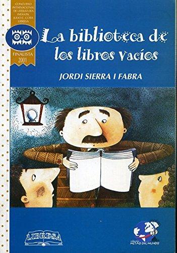 9789978806357: La Biblioteca De Los Libros Vacios (Spanish Edition)