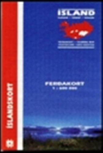 Iceland Touring Map (Maps of Iceland) (Icelandic Edition): Mal og menning
