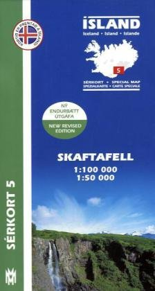 Island Serkort 05 Skaftafell  1 : 100 000: Mal Og Menning