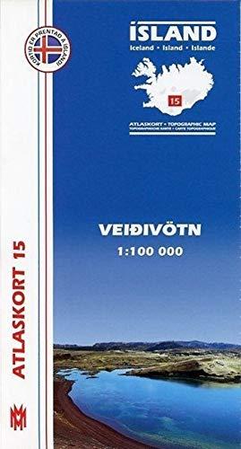 Atlaskort 15: Veidivötn 1:100.000