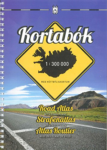 Iceland Road Atlas, with Town Plans, 2015-2016 2015: Hansen, H.H.