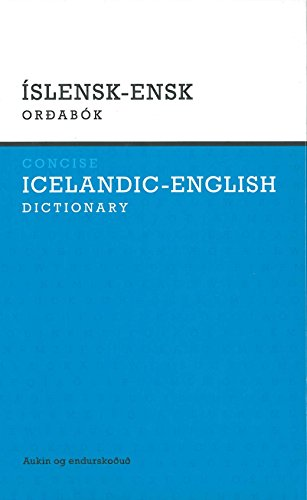 9789979535287: Concise Icelandic-English Dictionary 2009 (Icelandic Edition)