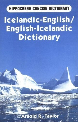 English-Icelandic Mathematical Dictionary: Axelsson, Reynir