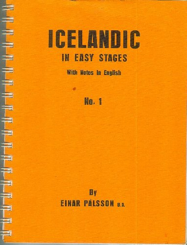 9789979600008: Icelandic in Easy Stages: Bk. 1