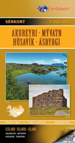 9789979672111: Akureyri / Myvatn / Husavik / Asbyrgi: ICELAND.S02