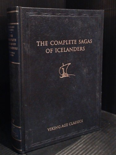 9789979929345: The Complete Sagas of Icelanders Including 49 Tales: Volume IV (Volume IV)