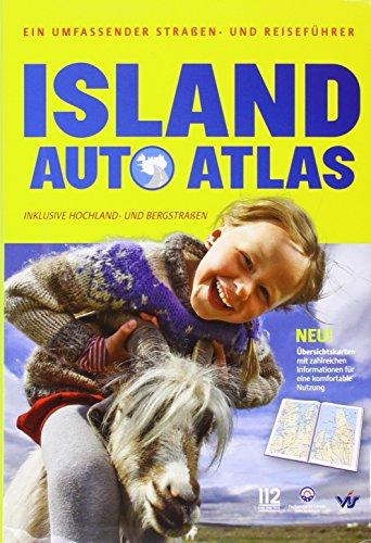 9789979975052 - ISLAND AUTO ATLAS REISEFHRER MAP - Book