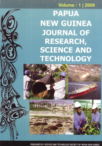 Papua New Guinea Journal of Research, Science and Technology, Volume 1: Quatermain, Alan (editor)