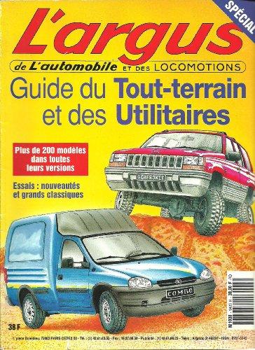 9789981000209: L'argus de l' automobile. 1994, hors-s�rie 4X4 & utilitaires l�gers. Sp�cial guide du Tout-terrain et des utilitaires. 200 mod�les.