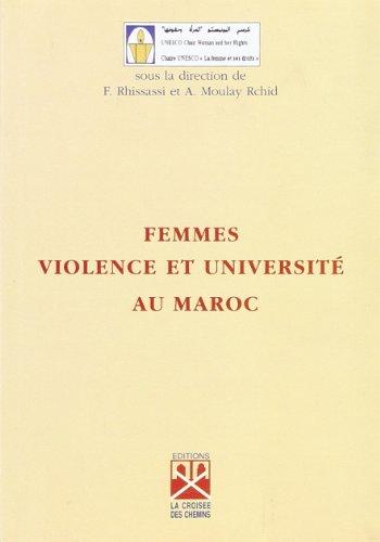 9789981896291: Femmes, violence et université au maroc