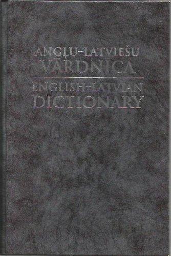 9789984070469: English-Latvian Dictionary (Anglu-Latviesu Vardnica)