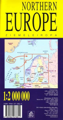 9789984073811: Northern Europe: Includes Iceland and Faroes