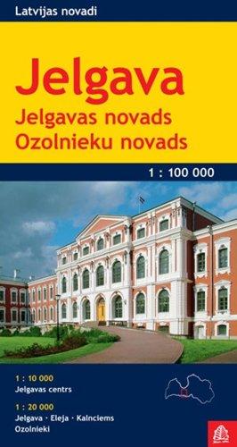9789984075396: Jelgava / Ozolnieki (r) r/v js Scale: 1/100-1/20
