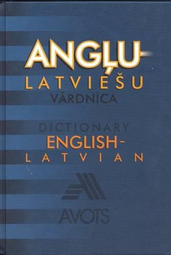 English-Latvian Dictionary (Hardback): Dzintra Kalnina