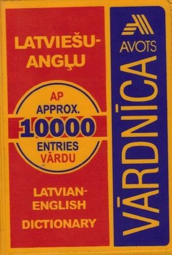 9789984757803: Latvian-English Dictionary: 10,000 Words (English and Latvian Edition)