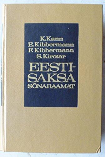 9789985681336: Eeesti-saksa sonaraamat - Estnisch-Deutsches Wörterbuch