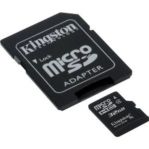 9789985695036: Professional Kingston MicroSDHC 32GB (32 Gigabyte) Card for GoPro HD Hero Naked HD Camera Phone with custom formatting and Standard SD Adapter. (SDHC Class 4 Certified)