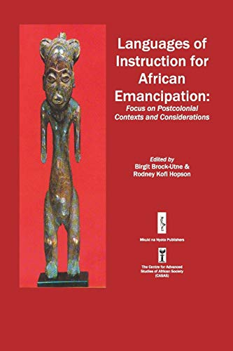 9789987417360: Languages of Instruction for African Emancipation (Casas Book Series)