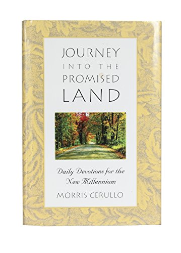 9789990001679: JOURNEY INTO THE PROMISED LAND: DAILY DEVOTIONS FOR THE NEW MILLENIUM