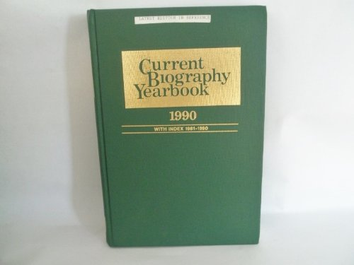 9789990006766: Current Biography Yearbook 1990