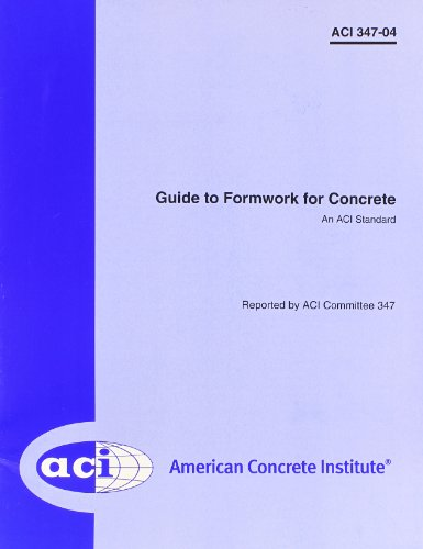 Guide to Formwork for Concrete: aci