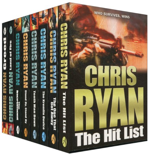 9789990054644: Stand By, Standy By, the Kremlin Device, The One That Got Away, Greed, the Increment, Land of Fire, Tenth Man Down and the Hit List - The Chris Ryan Collection [ 8 Volume Set ]