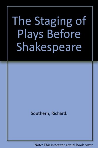 9789990066258: The Staging of Plays Before Shakespeare