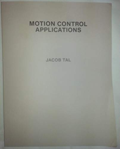 9789990085198: Motion Control Applications