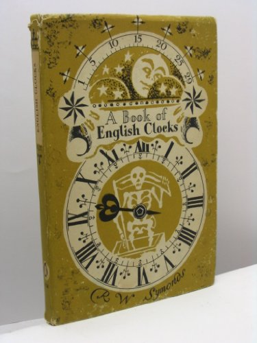 9789990184402: A Book Of English Clocks