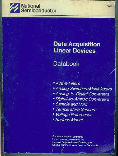 Data Acquisition Linear Devices Databook, 1989
