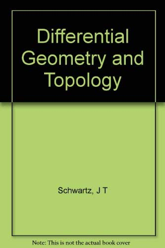 9789990196689: Differential Geometry and Topology