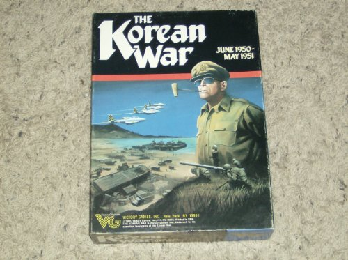 9789990381344: The Korean War (Victory Games Military Simulations, Game No. 30017)