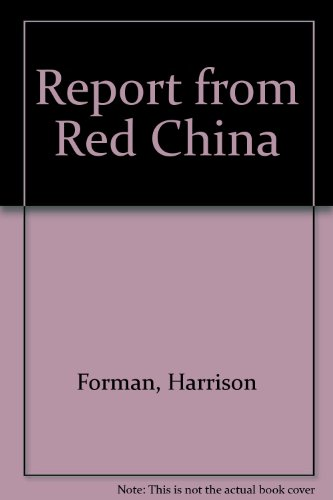 9789990381979: Report from Red China