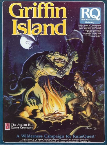 9789990400953: Griffin Island: A Wilderness Campaign for Runequest [BOX SET]