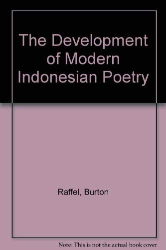 9789990435061: The Development of Modern Indonesian Poetry