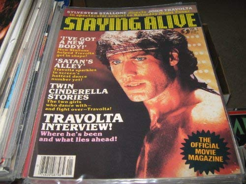 9789990546811: Staying Alive Official Movie Magazine
